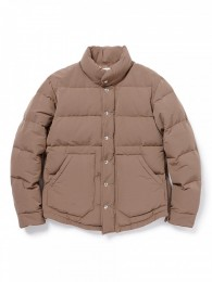 Hiker Down Coat C/N Tussah