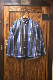 O.S. L/S Shirt Flannel Check / BLUE