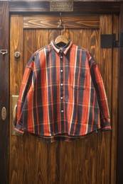 O.S. L/S Shirt Flannel Check / RED