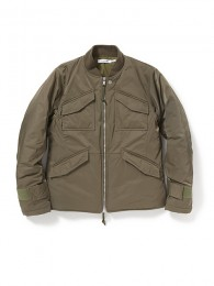 "Trooper Puff Jacket Poly Twill ""DICROS SOLO"""