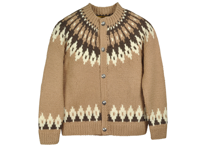 STANDARD CALIFORNIA - SD Hand Knit Lopi Cardigan