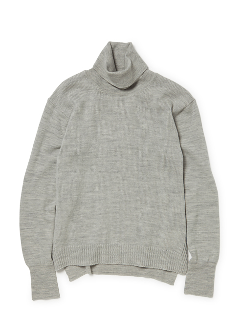 nonnative - Dweller Turtle Neck - Wool Solid