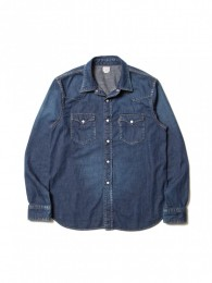 Denim L/S Western Shirt (Used Wash)