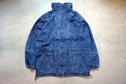 Crack Denim Field  JKT