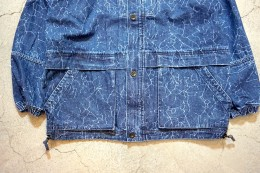 MASSES - Crack Denim Field  JKT