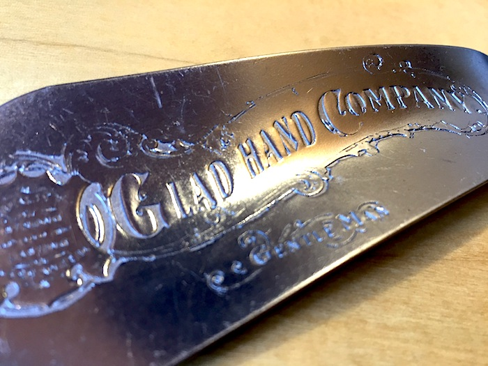 GLAD HAND & Co. - GH Shoe Horn