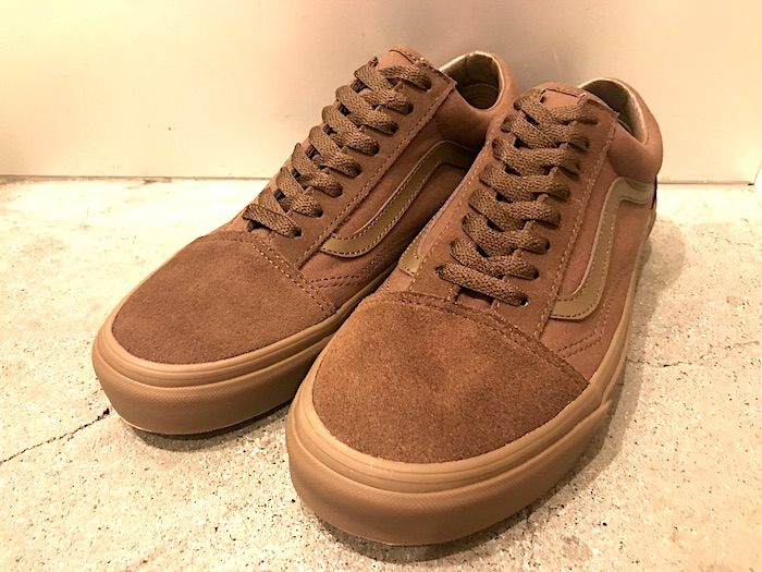 VANS - Old Skool Suede BRW