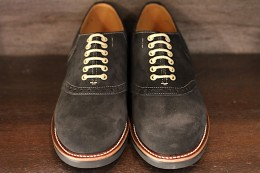 Glad Hand x Regal Saddle Suede Shoes -BLACK