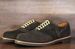 GLAD HAND & Co. - Glad Hand x Regal Saddle Suede Shoes -BLACK