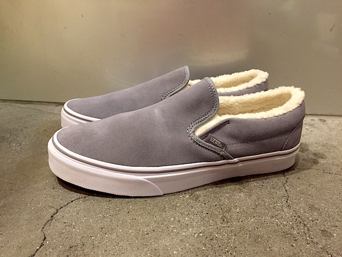 VANS - Classic Slip-On Suede Fleece GR