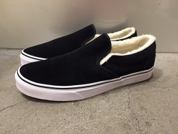 Classic Slip-On Suede Fleece BK