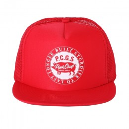 Circle Pork CAP / RED