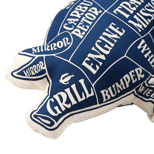 PORKCHOP GARAGE SUPPLY - Pork Cushion / NAVY
