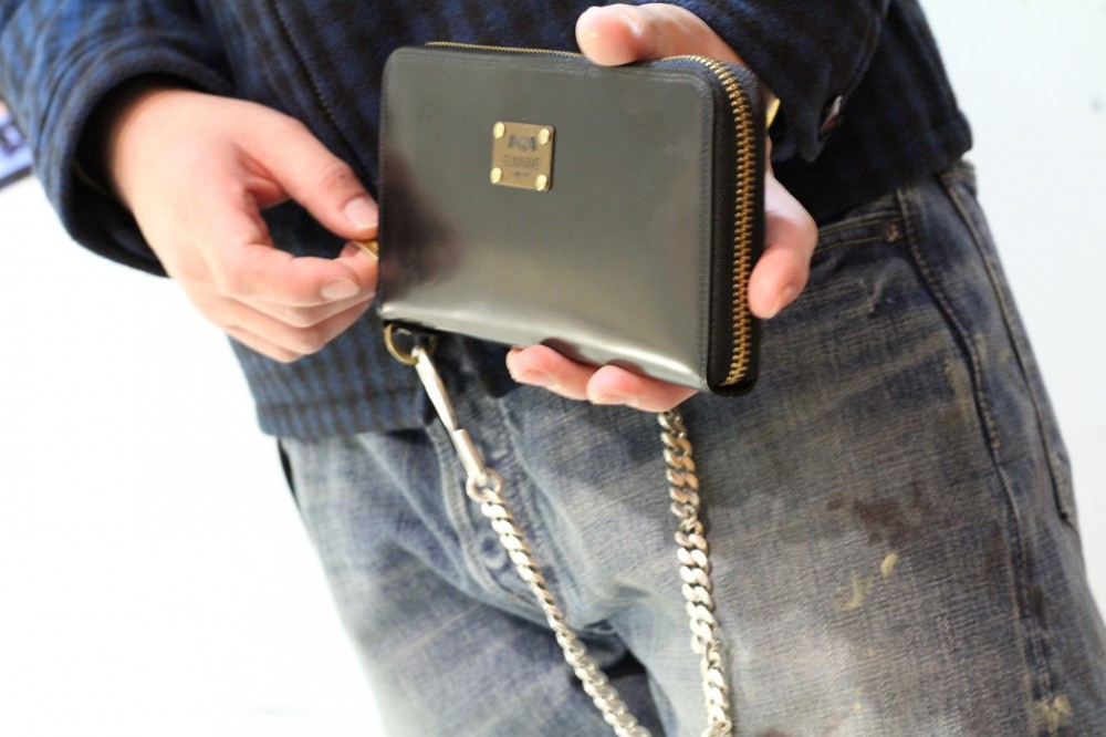 GLAD HAND & Co. - GLAD HAND x PORTER Zip Wallet