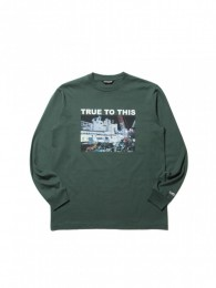 COOTIE - Print L/S Tee (TRUE TO THIS)