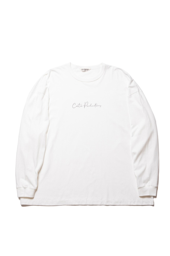 COOTIE - Print L/S Tee (LETTERED)