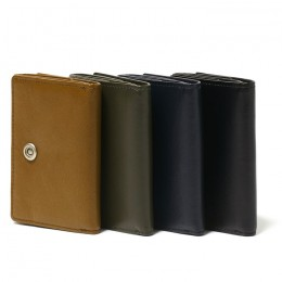 Cow Leather Trifold Wallet