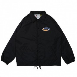 2nd Oval Coach JKT / BLACK