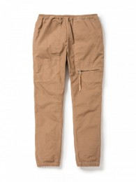 Educator Easy Rib Pants Cotton Oxford Overdyed