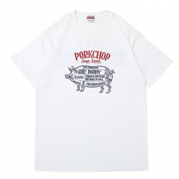 Choppers Welcome TEE / WHITE