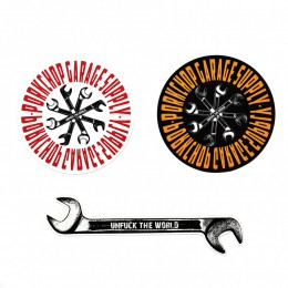 Wrench Sticker Set