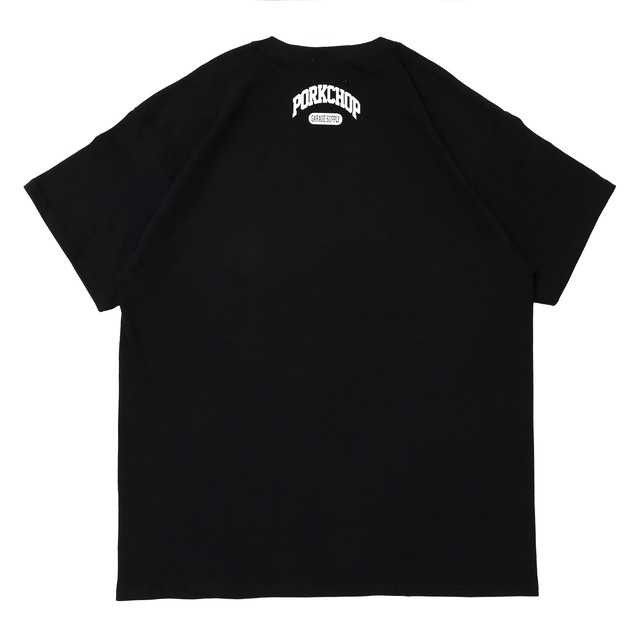 PORKCHOP GARAGE SUPPLY - College Tee / BLACK