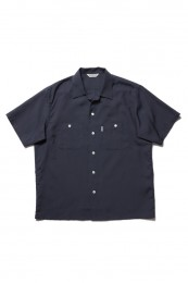 Rayon Open-Neck S/S Shirt