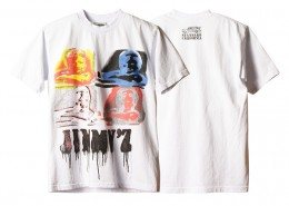 JIMMY'Z x SD Spray Logo T