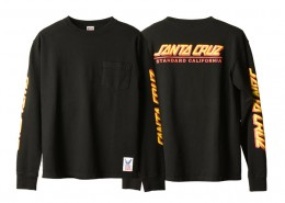 Santa Cruz x SD Made in USA Heavyweight Pocket LS