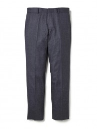 "10L Tapered CANONICO Wool Pants ""CHARLS"""