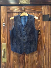 Jillet Denim Stripe Vest
