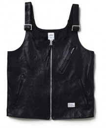 "Leather Vest ""DAFOE"""