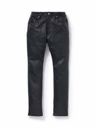 Dweller 5P Jeans Dropped Fit Cow Leather