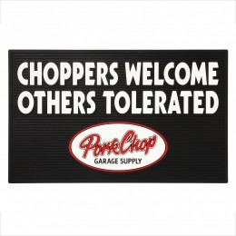"Welcome Rubber Mat ""CHOPPERS"""